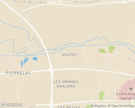 Localisation Institut Médico-Éducatif - 18000 - Bourges