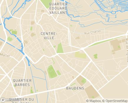 Localisation Résidence d'Hébergement Temporaire - 18000 - Bourges