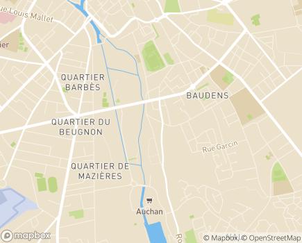 Localisation EHPAD - Maison de Retraite et de Repos Résidence du Val d'Auron - 18000 - Bourges