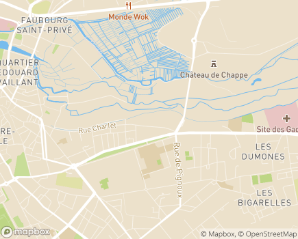Localisation Korian Villa du Printemps - 18000 - Bourges