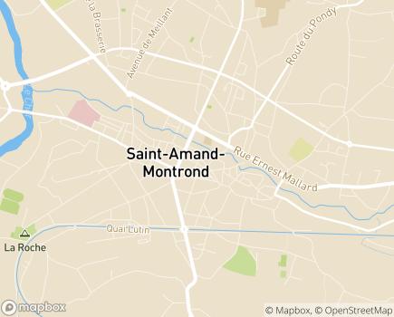 Localisation APEI Association de Parents d'Enfants Inadaptés - 18203 - Saint-Amand-Montrond