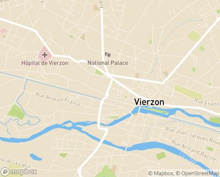 Localisation Korian Portes de Sologne - 18100 - Vierzon