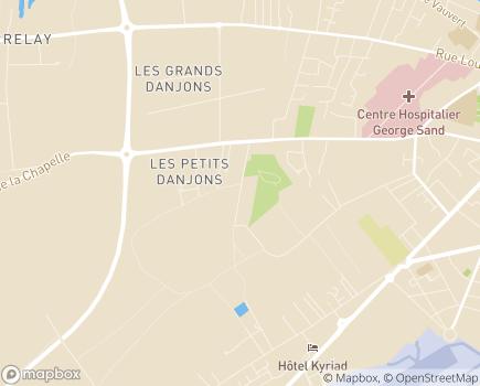Localisation SESSAD - 18000 - Bourges