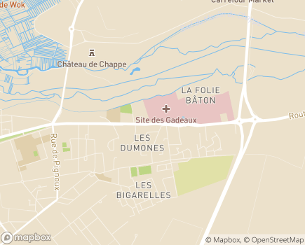 Localisation Espace Médical - 18000 - Bourges