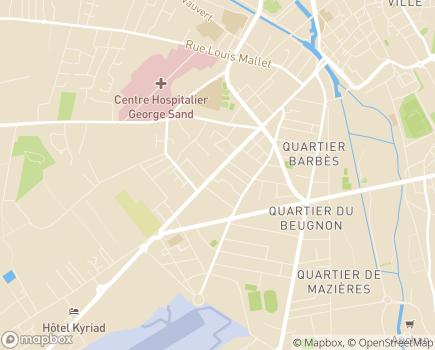 Localisation La Maison des Chemins - 18000 - Bourges