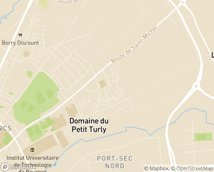 Localisation SSESD - Service de Soins et d'Education Spéciale à Domicile LADAPT - 18570 - Trouy