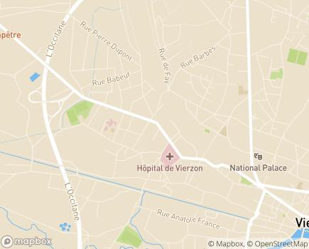 Localisation Domitys Le Village - Résidence avec Services - 18100 - Vierzon