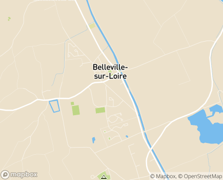 Localisation Centre Intergénération EHPA Crot Fleuri - 18240 - Belleville-sur-Loire