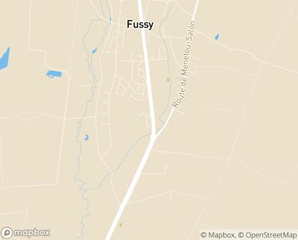 Localisation Les Menus Services Bourges - 18110 - Fussy