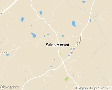 Localisation Instance de Coordination de l'Autonomie du canton de Tulle Campagne Nord - 19330 - Saint-Mexant