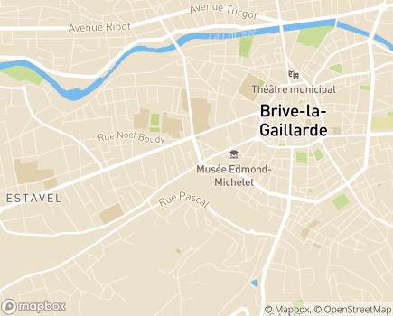 Localisation Age d'Or Services Brive - 19100 - Brive-la-Gaillarde