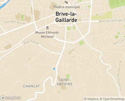 Localisation Instance de Coordination Autonomie du Canton de Brive  - 19100 - Brive-la-Gaillarde