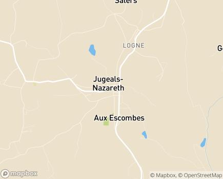 Localisation Pitaud Services - 19500 - Jugeals-Nazareth