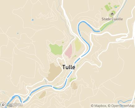 Localisation Soins de Suite et de Réadaptation Gériatrique Le Chandou - 19012 - Tulle