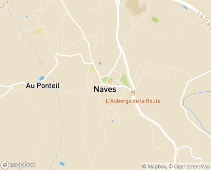 Localisation Latitude services - 19460 - Naves