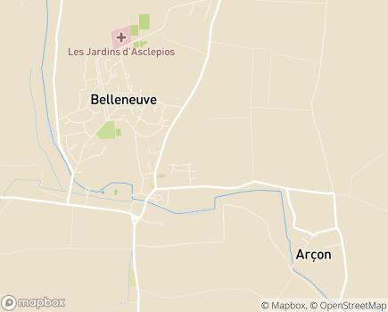 Localisation Colisée - Résidence Coronis - 21310 - Belleneuve