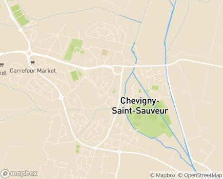 Localisation EHPAD ARPAVIE Résidence Les Tonnelles - 21800 - Chevigny-Saint-Sauveur