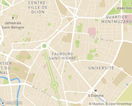 Localisation Centre Éducatif Renforcé - 21000 - Dijon