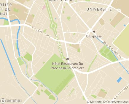 Localisation Les Jardins d'Arcadie Dijon - 21000 - Dijon