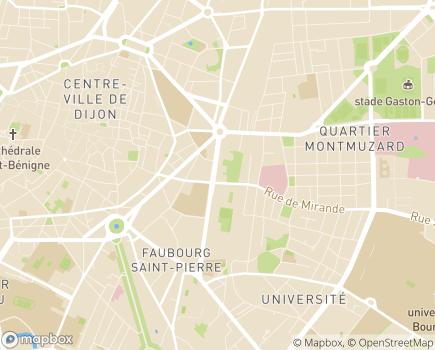Localisation Maison du Clergé - 21000 - Dijon