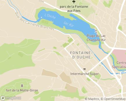 Localisation Association Centres de Soins Infirmiers - 21000 - Dijon