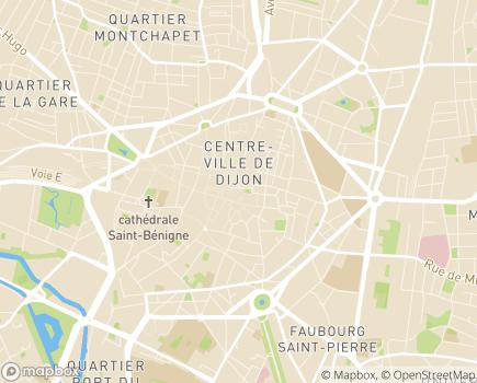 Localisation Service d'Action Educative en Milieu Ouvert  - SAEMO - 21018 - Dijon