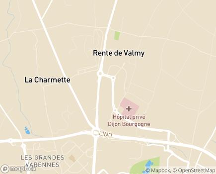Localisation EHPAD Résidence Valmy - 21000 - Dijon