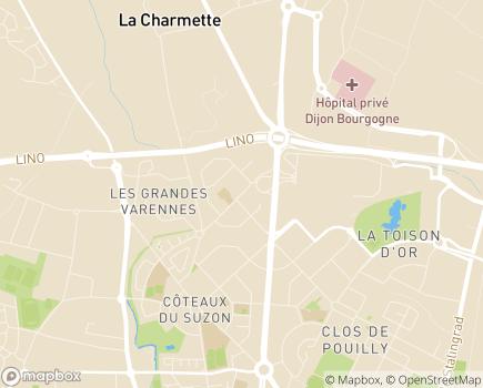 Localisation FEDOSAD - 21072 - Dijon