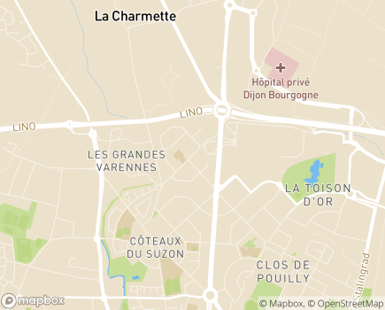 Localisation FEDOSAD Accueils de Jour - 21072 - Dijon