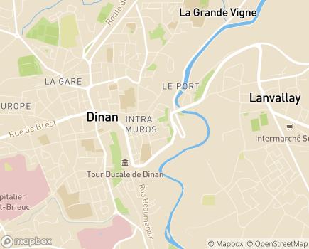Localisation EHPAD Yves Blanchot - 22100 - Dinan
