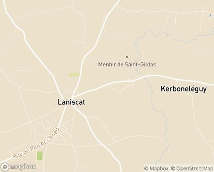 Localisation Centre Communal d'Action Sociale - 22570 - Laniscat