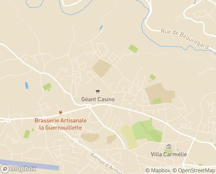 Localisation Mutualité Sociale Agricole - 22025 - Saint-Brieuc