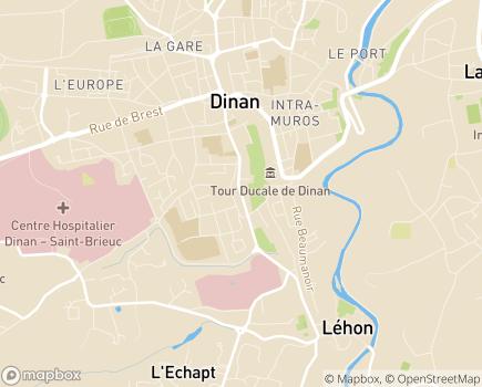 Localisation EHPAD Maurice Peigne - 22101 - Dinan