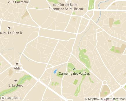 Localisation ADSEA 22 - 22000 - Saint-Brieuc