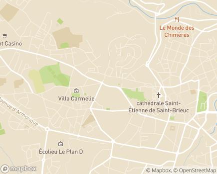 Localisation Domitys Le Griffon d'Or - Résidence avec Services - 22000 - Saint-Brieuc