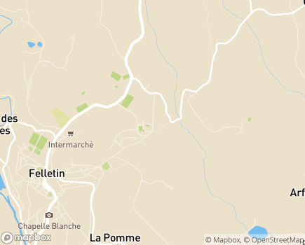 Localisation ALEFPA IME Institut Médico-Éducatif Denis Forestier L'Echange - 23500 - Felletin