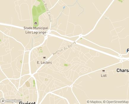 Localisation Résidence Jean Petit du Boueix - 23000 - Guéret