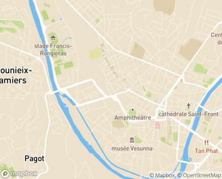 Localisation SAISP Service d'Accompagnement à l'Insertion Socio-Professionnelle - 24000 - Périgueux