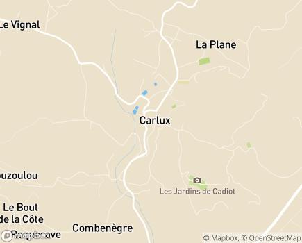 Localisation CIAS du Pays de Fénelon - Service d'Aide à Domicile - 24370 - Carlux