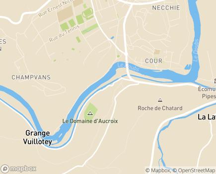 Localisation Colisée - Résidence Vallée Médicale - 25110 - Baume-les-Dames
