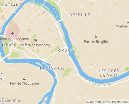 Localisation Domidom Besançon - 25000 - Besançon