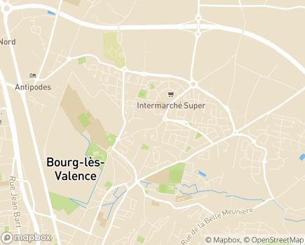 Localisation Colisée - Résidence Les Jardins de l'Allet - 26500 - Bourg-lès-Valence