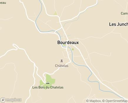 Localisation Foyer d'Enfants Le Rayon de Soleil - 26460 - Bourdeaux