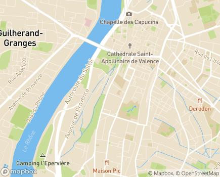 Localisation Direction Générale Adjointe des Solidarités - 26011 - Valence