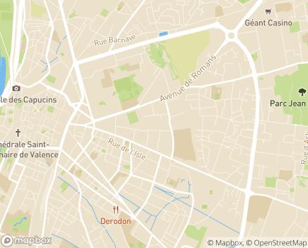 Localisation Korian Villa Thaïs - 26000 - Valence