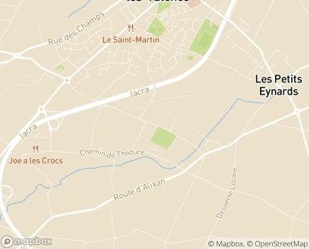 Localisation EHPAD Le Clos Rousset - 26320 - Saint-Marcel-lès-Valence