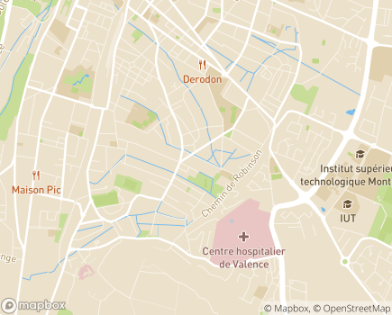 Localisation Les Jardins d'Arcadie Valence - 26000 - Valence