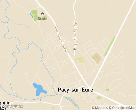 Localisation Centre Communal d'Action Sociale - 27120 - Pacy-sur-Eure