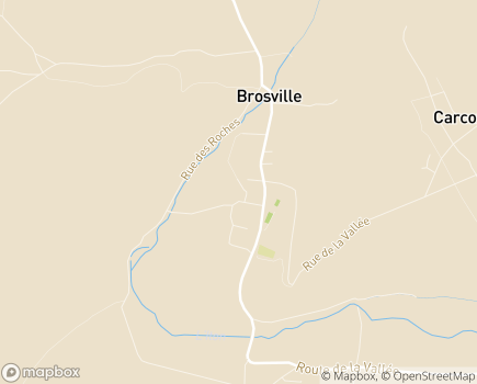 Localisation EHPAD Résidence Les Feuillans - 27930 - Brosville