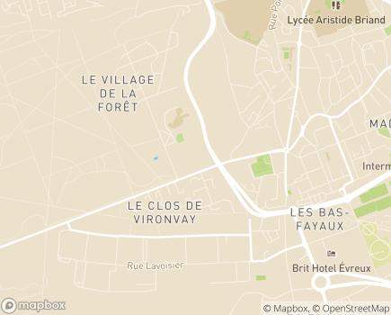 Localisation Présence Verte Centre Nord - 27000 - Évreux